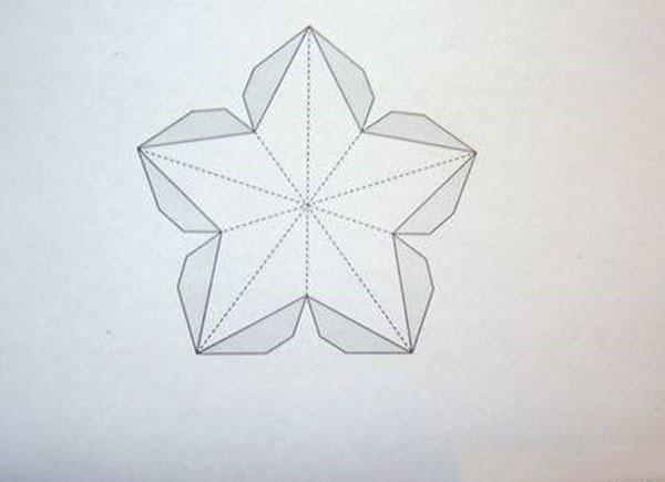 Как сделать объемная открытка звезда, красивая открытка