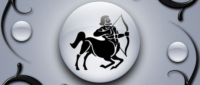 Символ знака зодиака стрелец