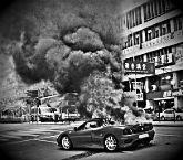 Сонник к чему снится горящая машина